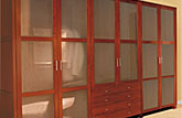 Wooden wardrobe Zack-Design