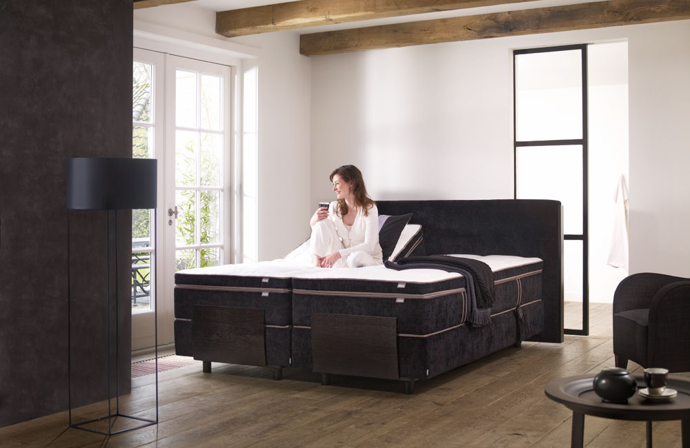 boxspringbett kiruna unik deluxe boxspringbetten von auping. Black Bedroom Furniture Sets. Home Design Ideas